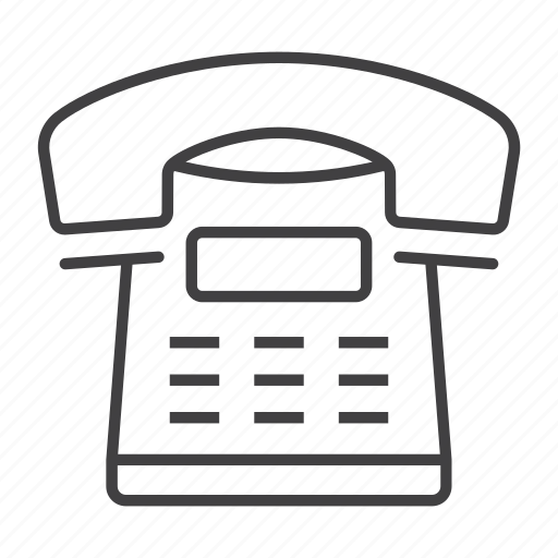 call, commuication, contact, home, office, phone, telephone icon