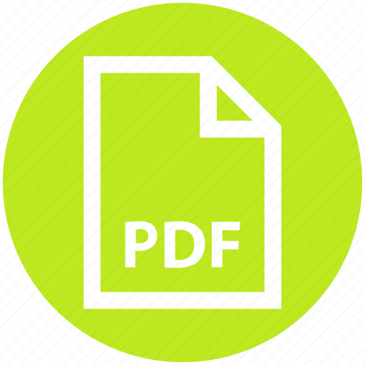 business, file, file format, pdf, portable document format icon