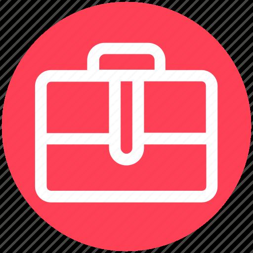 bag, briefcase, business, office bag, portfolio, suitcase icon