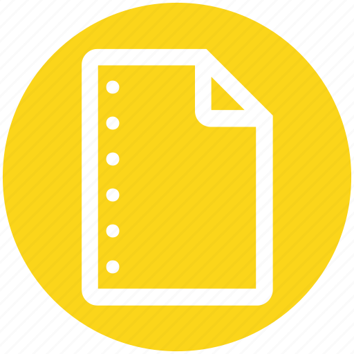 business, document, list, office, page, paper icon