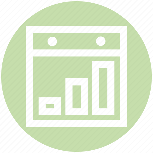 business, chart, diagram, graph, web, website icon