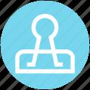 binder, clamp clip, clip, paper clamp, paper clip icon