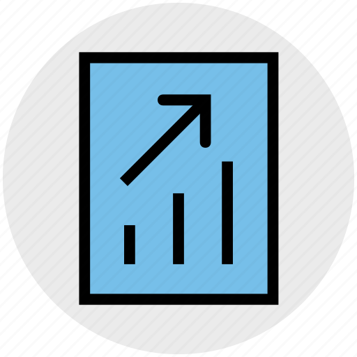 analytics, business, chart, graph report, report, stats icon