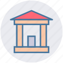 bank, building, business, capital, management, office icon