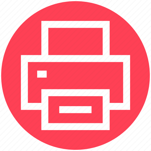 device, fax, office, photocopy, print, printer icon