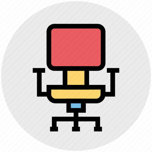 armchair, business, chair, furniture, office chair, seat icon