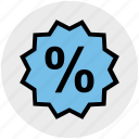 discount, discount tag, offer, percentage, tag icon