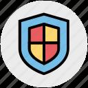antivirus, business, insurance, safe, security, shield icon