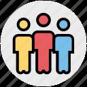 businessmen, meeting, people, standing, users