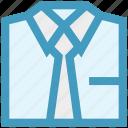 business, plain tie, shirt, suit, suit and tie, tie icon