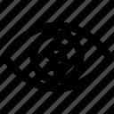 business, businessman eye, coin, dollar, dollar sign, money, view icon
