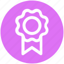 achievement, award, badge, business, medal, winner icon