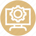 business, cog, cog wheel, gear, lcd setting, wheel icon