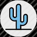 cactus, desert, eco, flowerpot, nature, plant, pot icon