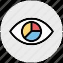 analysis, analytics, chart, data, eye, graph, vision