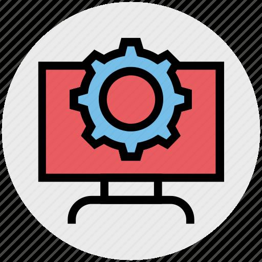 business, cog, cog wheel, gear, lcd setting, wheel icon