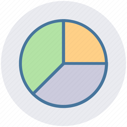 analysis, business, chart, diagram, graph, pie, pie chart icon