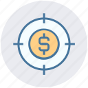 business, coin, dollar, goal, marketing, target, targeting