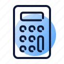 calculator, planning icon