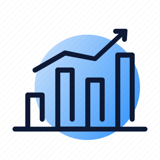 chart, graph, growth, sales icon