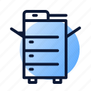 copier, office, printer, printing icon