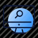 looking glass, mac, market, online, research
