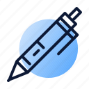 learn, pen, work icon