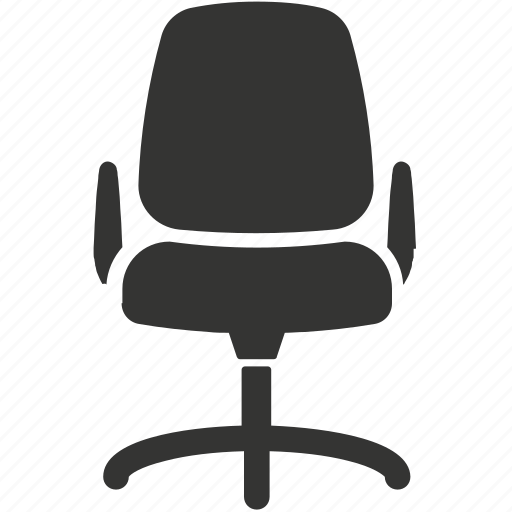business, furniture, office chair, seat icon