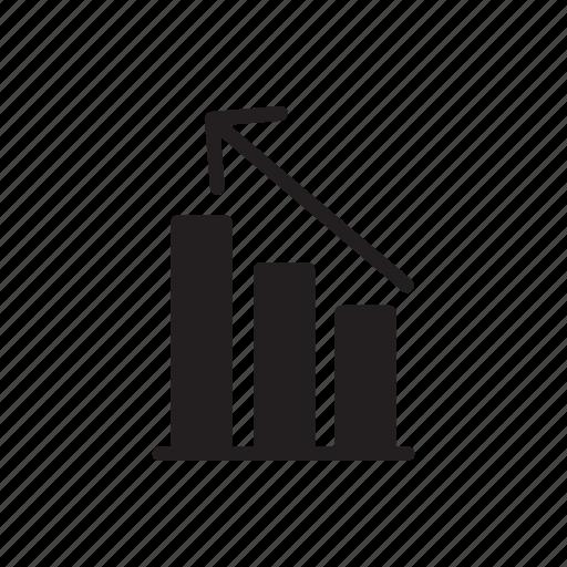 analysis, bar, chart, diagram, graph, presentation, statistics icon
