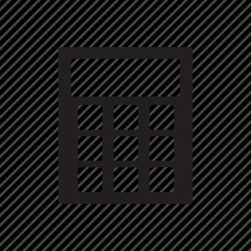 business, calculator, finance, marketing, office, online icon