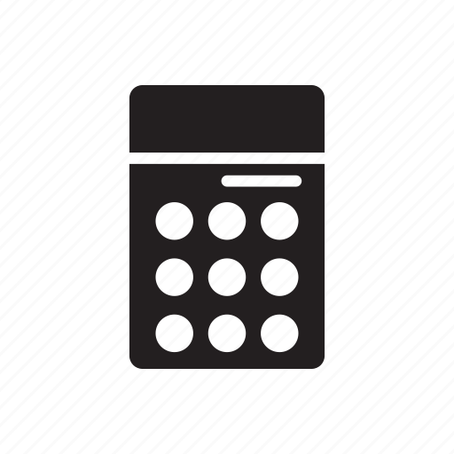 accounting, business, calculator, finance, marketing, online icon