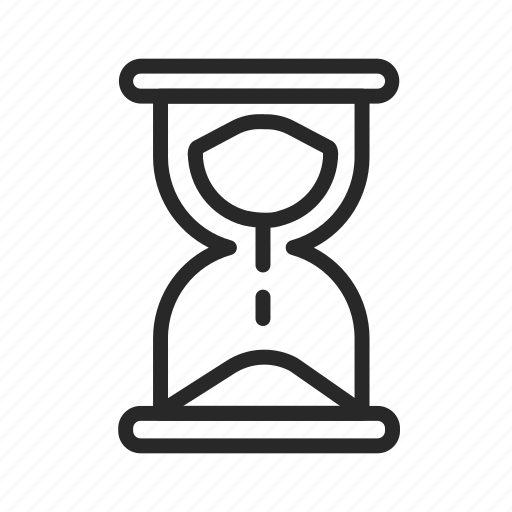 hourglass, stopwatch, time, timer, waiting icon