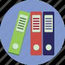 binders, business, folders, information
