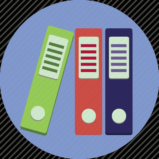 Binders, business, folders, information icon - Download on Iconfinder
