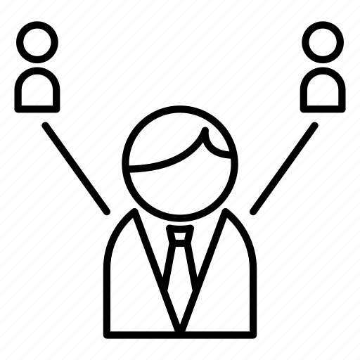 business, chart, group, marketing, people icon