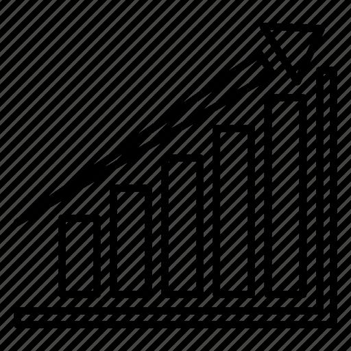 anaytics, business, chart, finance, marketing icon