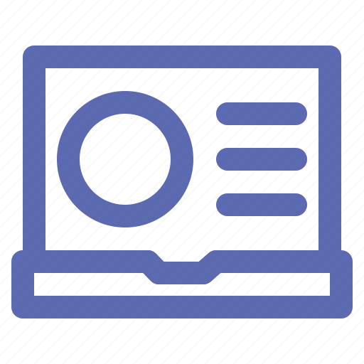 business, computer, laptop, office, pc icon