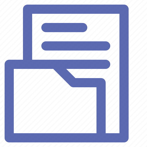 business, file, manager, office icon