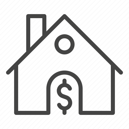 business, finance, home, house, real estate icon