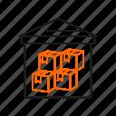 storage, unit, warehouse icon