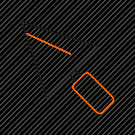 maintenance, tools, trowel icon