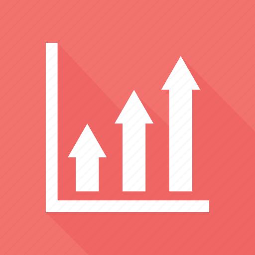 Analytics, arrow, bar, chart icon - Download on Iconfinder