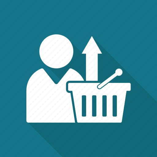 Basket, buy, cart, ecommerce, shop, shopping, upload icon - Download on Iconfinder