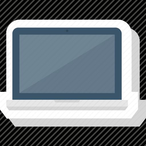 device, laptop, screen, technology icon icon