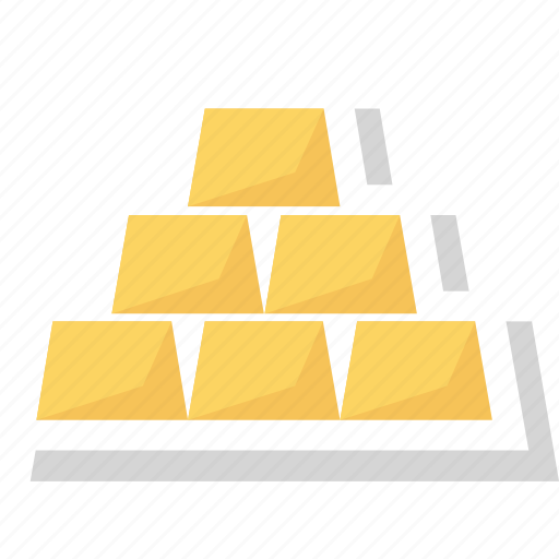 bars, gold, gold bar, gold bars icon icon