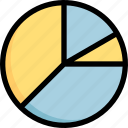 business, chart, marketing, pie, statistic icon