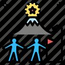 collaborative, connection, help, partnet, spirit, team, teamwork icon