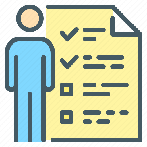 business, customer, questionnaire, survey icon