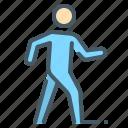 go, human, person, walk, walker icon