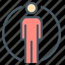 human, man, people, profile, user